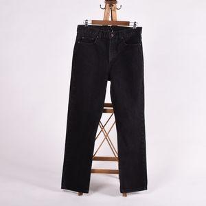 Faded Glory black High waisted jeans size 29x30